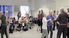 harmonika banjo violin sømandssange gårdsange spillemandsmusik
