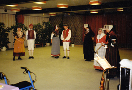 spillemand harmonika banjo violin sømandssange sølv- guldbryllup kulturarv høstfest julemusik