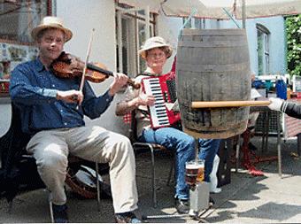 Fastelavn harmonika banjo violin sømandssange nyhavnssange sømandsmusik spillemandsmusik viser